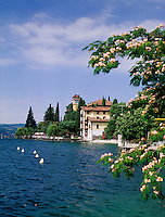 Italy, Lombardia, Lake Garda, Fasano near Gargnano: Grand Hotel | Italien, Lombardei, Gardasee, Fasano bei Gargnano: Grand Hotel