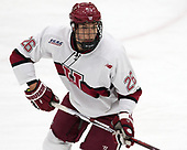 Jacob Olson (Harvard - 26) - The visiting Colgate University Raiders shut out the Harvard University Crimson for a 2-0 win on Saturday, January 27, 2018, at Bright-Landry Hockey Center in Boston, Massachusetts.