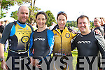 Tralee Triathlon club members who participated in the Iron Man Triathlon in Killarney on Saturday was l-r: Damian Morrisson, Sharon Cahill, Jackie Ruttledge and Maurice Breen