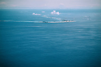 Kwajalein Atoll, home to the Ronald Reagan Ballistic Missile Defence Test Site, where the U.S. military conducts missile defence and space research programs.