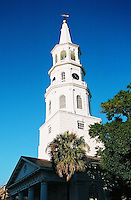 Photo of St. Michaels Church in Charleston, South Carolina