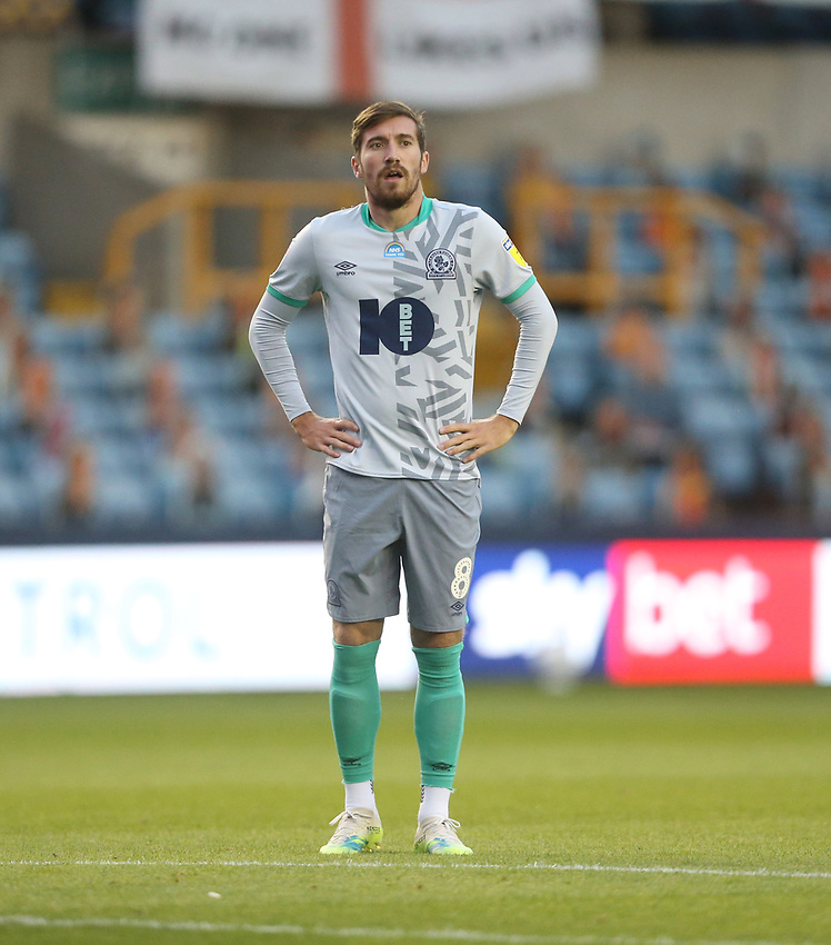 Blackburn Rovers' Joe Rothwell<br /> <br /> Photographer Rob Newell/CameraSport<br /> <br /> The EFL Sky Bet Championship - Millwall v Blackburn Rovers - Tuesday July 14th 2020 - The Den - London<br /> <br /> World Copyright © 2020 CameraSport. All rights reserved. 43 Linden Ave. Countesthorpe. Leicester. England. LE8 5PG - Tel: +44 (0) 116 277 4147 - admin@camerasport.com - www.camerasport.com