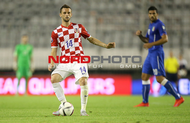 12.06.2015., Croatia, stadium Poljud, Split - Qualifying match for the European Championship to be held in 2016 in France, Group H, Round 6, Croatia - Italy. Marcelo Brozovic.<br />  <br /> Foto &copy;  nph / PIXSELL / Igor Kralj;