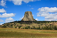 Devils Tower in Wyoming on August 15, 2010.
