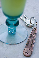 """Asie/Israël/Judée/Jérusalem: Hotel American Colony-Service de la limonade, """"lemonade"""" maison, à base de citron et de menthe fraiche au café dans le jardin"""