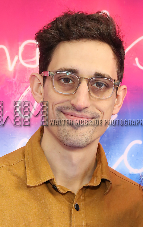 """Justin Peck attends the Broadway Opening Night Arrivals for """"Angels In America"""" - Part One and Part Two at the Neil Simon Theatre on March 25, 2018 in New York City."""
