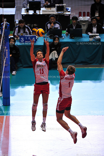 Zygadlo Lukasz (POL), ..DECEMBER 4,2011 - Volleyball : FIVB Men's Volleyball World Cup 2011,4th Round Tokyo(A) during match between Poland 2-3 Russia at 1st Yoyogi Gymnasium, Tokyo, Japan. (Photo by Jun Tsukida/AFLO SPORT) [0003]