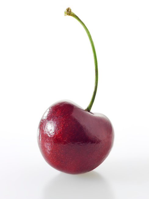 Fresh Cherry against a white background