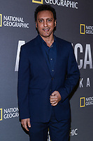 "NEW YORK - APRIL 9: Aasif Mandvi, Actor and Comedian attends National Geographic's ""America Inside Out with Katie Couric"" Premiere Screening at the Titus Theater at MOMA on April 9, 2018 in New York City. ""America Inside Out with Katie Couric"", a new six-part documentary series, follows Couric as she travels the country to talk with the people bearing witness to the most complicated and consequential questions in American culture today. The weekly series premieres Wednesday, April 11, 2018, at 10/9c and will air globally on National Geographic.(Photo by Anthony Behar/National Geographic/PictureGroup)"