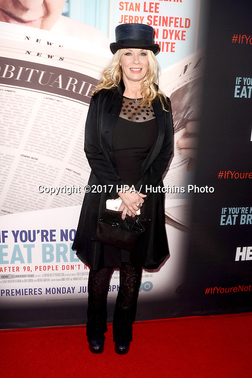 "LOS ANGELES - MAY 17:  Nancy Wilson at the ""If You're Not In The Obit, Eat Breakfast"" Premiere at the Samuel Goldwyn Theater on May 17, 2017 in Beverly Hills, CA"