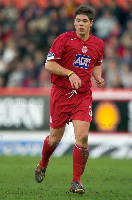 Jamie Winter, Aberdeen.stock season 2004-2005.pic willie vass