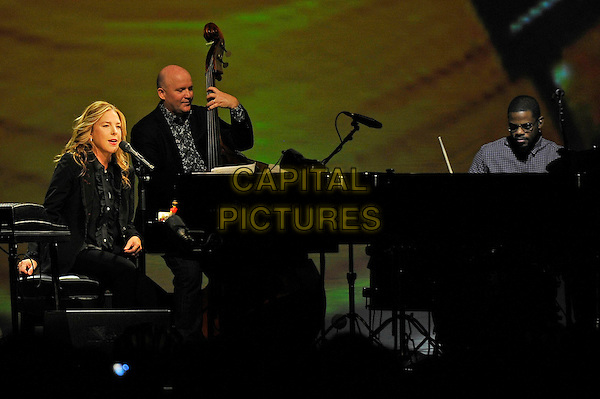 LONDON, ENGLAND - SEPTEMBER 30: Diana Krall performing at Royal Albert Hall on September 30, 2015 in London, England.<br /> CAP/MAR<br /> &copy; Martin Harris/Capital Pictures