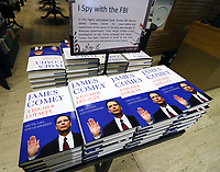 APR 17 James Comey's A Higher Loyalty Published in UK