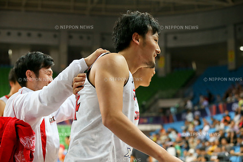 Daiki Tanaka (JPN),<br /> OCTOBER 1, 2015 - Basketball :<br /> 2015 FIBA Asia Championship for Men Quarterfinal match between Japan 81-67 Qatar at Changsha Social Work College's Gymnasium in Changsha, China. (Photo by Yoshio Kato/AFLO)