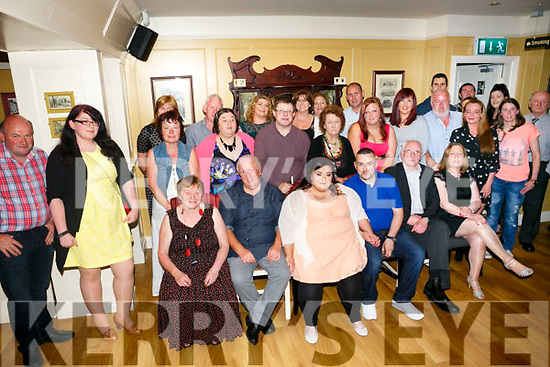 Amanda O Connor and P J Dineen celebrate their Engagement with family and friends at the Brogue Inn on Saturday