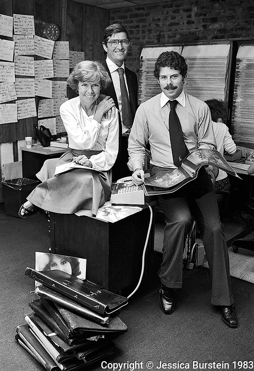 Ford Modeling Agency   1983.