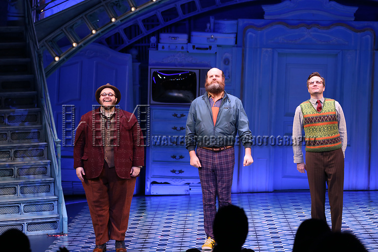 during the Broadway Opening Night Performance Curtain Call for 'Amelie' at the Walter Kerr Theatre on April 3, 2017 in New York City