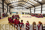 pictured at the Official opening of the new Sports hall at Moyderwell Primary School on Friday.