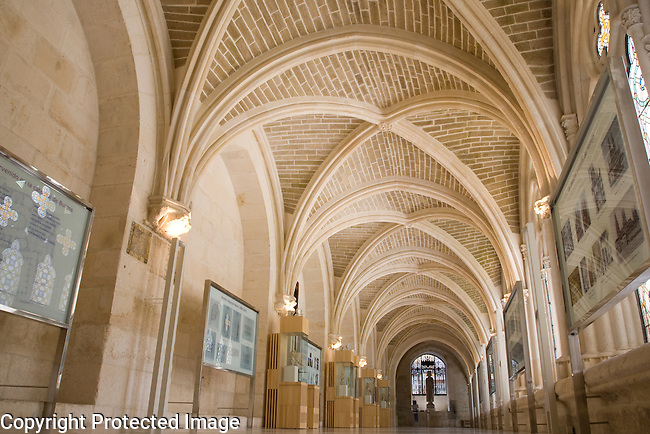 Interior of Cloister, Museum, Cathedral, Burgos, Spain