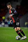Kai Havertz of Bayer 04 Leverkusen during the UEFA Europa League match between Atletico de Madrid and Bayer 04 Leverkusen at Wanda Metropolitano Stadium in Madrid, Spain. October 22, 2019. (ALTERPHOTOS/A. Perez Meca)