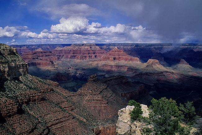 USA, ARIZONA, GRAND CANYON, VIEW FROM SOUTH RIM