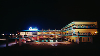 Satellite Motel, Wildwood, NJ - 1960's Night Exterior
