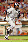 13 June 2006: Choo Freeman, outfielder for the Colorado Rockies, runs to first during a game against the Washington Nationals at RFK Stadium, in Washington, DC. The Rockies defeated the Nationals 9-2 in the second game of the four-game series...Mandatory Photo Credit: Ed Wolfstein Photo..