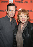 Dylan Baker and Becky Ann Baker attends the Off-Broadway Opening Night performance of 'Man From Nebraska' at the Second StageTheatre on February 15, 2017 in New York City.