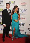 BEVERLY HILLS, CA - MARCH 24: Carrie Ann Inaba and Jesse Sloan attend the 26th Genesis Awards at The Beverly Hilton Hotel on March 24, 2012 in Beverly Hills, California.