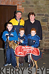 SMILES: Smiles by the Murnane Family, Kilflynn as they won the Baily Cup on Thursday at Tralee Coursing at Ballybeggan.    Copyright Kerry's Eye 2008
