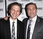 Sebastian Arcelus & Marc Kudisch attending the Broadway Opening Night Performance of 'The Mystery of Edwin Drood' at Studio 54 in New York City on 11/13/2012