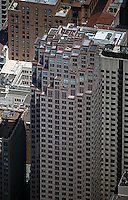 aerial photograph 333 Bush St office tower San Francisco