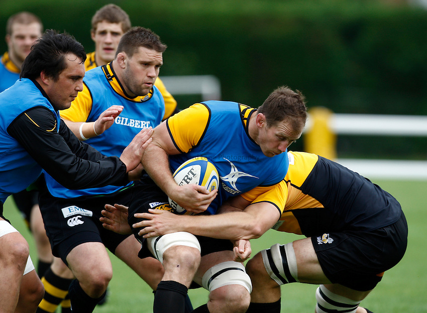 Photo:Richard Lane/Richard Lane Photography. London Wasps training. 07/09/2011. Wasps' Richard Birkett.