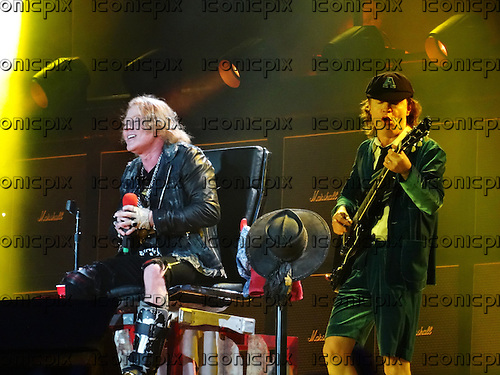 AC/DC - gutiarist Angus Young & AXL ROSE - performing live at Stade Velodrome in Marseilles France - 13 May 2016. Photo credit: Patrice Guino/Dalle/IconicPix ** UK ONLY **