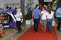 RIO DE JANEIRO, RJ, 27 JULHO 2012 - ABERTURA DO 14 RIO SPORTS SHOW-O Rio Sports Show chega a sua 14 edicao no Pier Maua com expectativa de receber 40 mil visitantes de hoje, sexta-feira, dia 27 a domingo dia 29, na Praca Maua, centro do rio. (FOTO: MARCELO FONSECA / BRAZIL PHOTO PRESS).