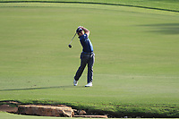 Paul Dunne (IRL) on the 18th fairway during Round 4 of the DP World Tour Championship 2017, at Jumeirah Golf Estates, Dubai, United Arab Emirates. 19/11/2017<br /> Picture: Golffile | Thos Caffrey<br /> <br /> <br /> All photo usage must carry mandatory copyright credit     (© Golffile | Thos Caffrey)
