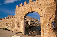 Italien, Insel Pianosa bei Elba, Forte Teglia