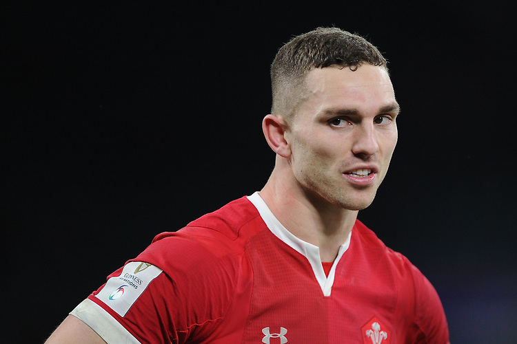 George North of Wales during the Guinness Six Nations match between England and Wales at Twickenham Stadium on Saturday 7th March 2020 (Photo by Rob Munro/Stewart Communications)