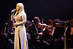 Singer Karina Prince during concert of Festival Unicos. September 23, 2019. (ALTERPHOTOS/Johana Hernandez)