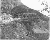 Wide angle view of RGS Bridge 46-E.<br /> RGS  Ophir Loop, CO