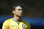 Thiago Silva (BRA), JUNE 28, 2014 - Football / Soccer : FIFA World Cup Brazil 2014 round of 16 match between Brazil and Chile at the Mineirao Stadium in Belo Horizonte, Brazil. (Photo by AFLO)