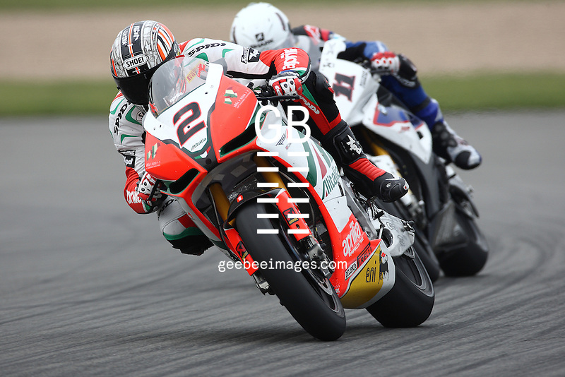 2011 Superbike World Championship, Round 02, Donington, UK, 27 March 2011, Leon Camier, Aprilia