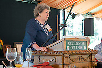 Fifty Year Club luncheon on Bell Field.<br /> Occidental College alums enjoy a long weekend of activities and festivities both on campus and off during Alumni Reunion Weekend, June 23, 2013.<br /> (Photo by Marc Campos, Occidental College Photographer)