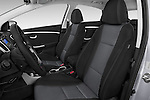 Front seat view of 2017 Hyundai Elantra Gt 5 Door Hatchback front seat car photos