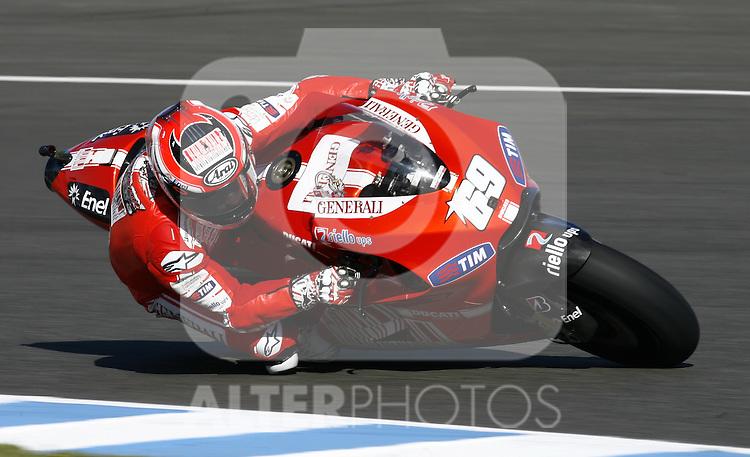 MOTOCICLISMO - G.P. ESPAÑA - JEREZ DE LA FRONTERA - 2/5/2010 - MOTOGP - NICKY HAYDEN