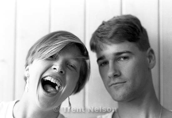 Laura Nelson and Trent Nelson<br />