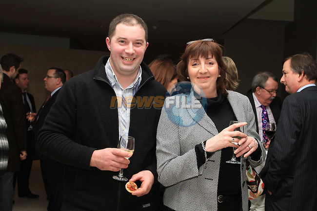 Anthony Connor and Patricia Smith at the Launch of the 2012 Drogheda Motor Show..(Photo credit should read Jenny Matthews www.newsfile.ie)....This Picture has been sent you under the conditions enclosed by:.Newsfile Ltd..The Studio,.Millmount Abbey,.Drogheda,.Co Meath..Ireland..Tel: +353(0)41-9871240.Fax: +353(0)41-9871260.GSM: +353(0)86-2500958.email: pictures@newsfile.ie.www.newsfile.ie.