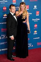 Juan Manuel Alcaraz and Alejandra Prat attends to the photocall of the Gala Sida at Palacio de Cibeles in Madrid. November 21, 2016. (ALTERPHOTOS/Borja B.Hojas) //NORTEPHOTO.COM