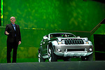 Senior Vice President of Design for the Chrysler Group, Trevor Creed, at the unveiling of the Jeep Trailhawk concept car at the North American International Auto Show, 2007