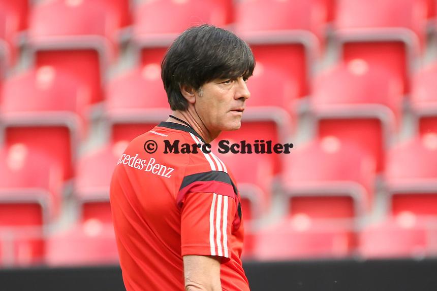 Bundestrainer Joachim Löw (D) - Abschusstraining Nationalmannschaft in Mainz